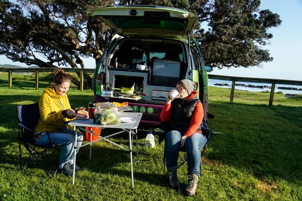 Reisekosten in Neuseeland: Frühstück