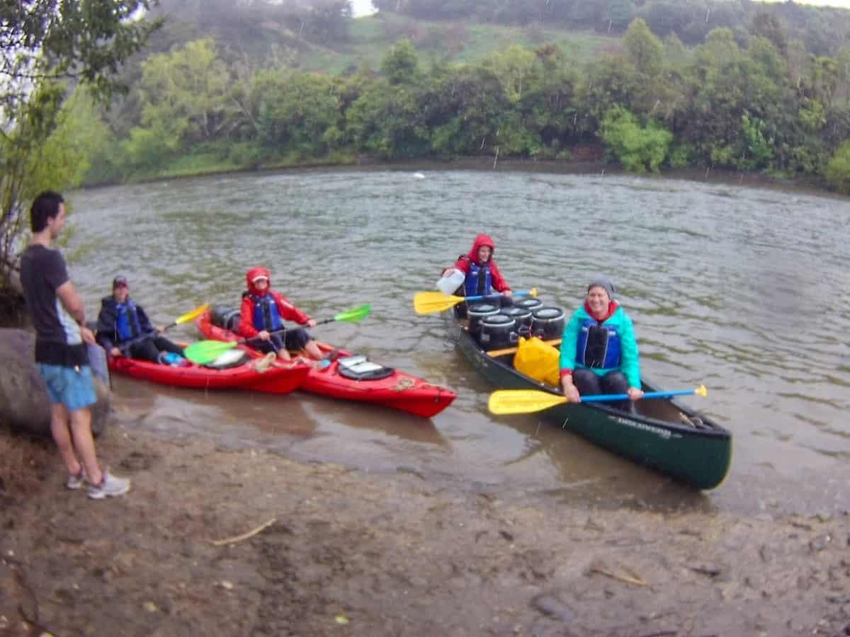 Abfahrt Taumarunui Canoe Hire