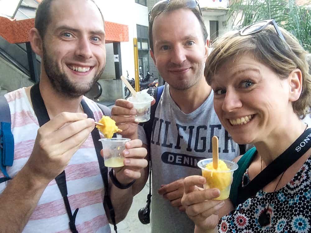Die besten Popsicles Medellíns