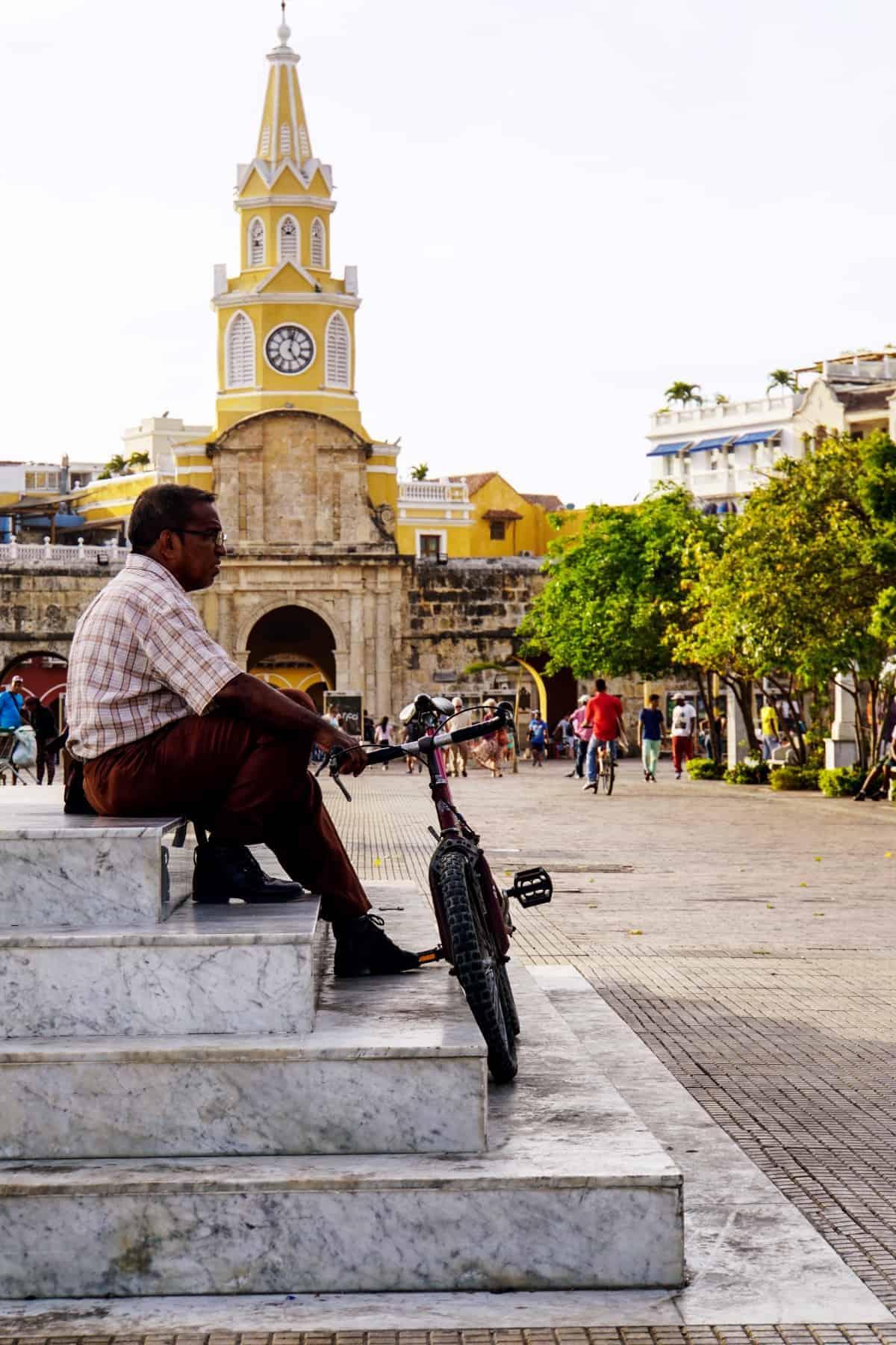 Eingang Stadtmauer Cartagena