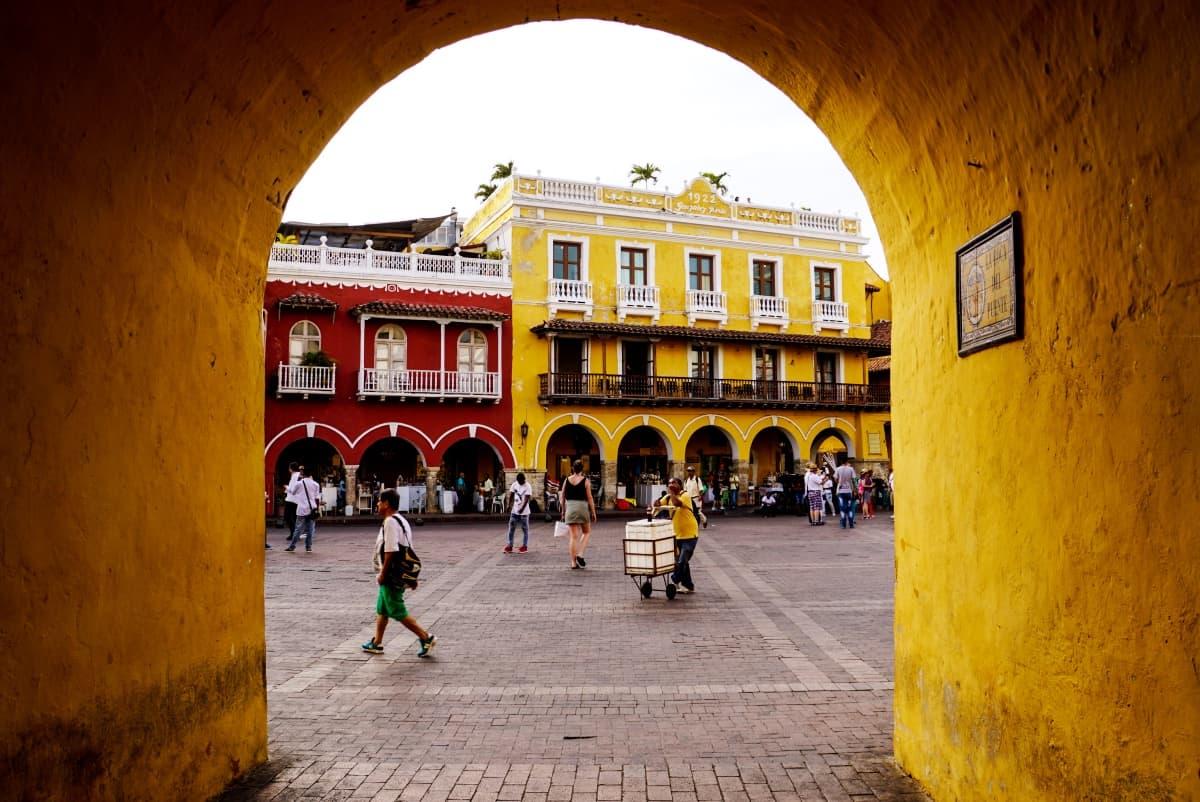 Stadttor Cartagena