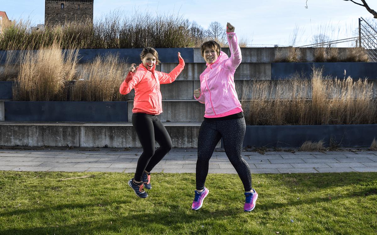 Kostenlose 30 Tage Laufchallenge von GET READY TO RUN
