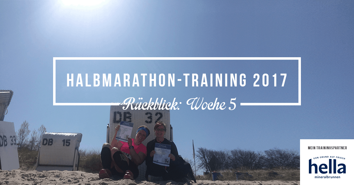 """""""Ahoi Sonnenbrand!"""" – Rückblick Halbmarathon-Training Woche 5"""
