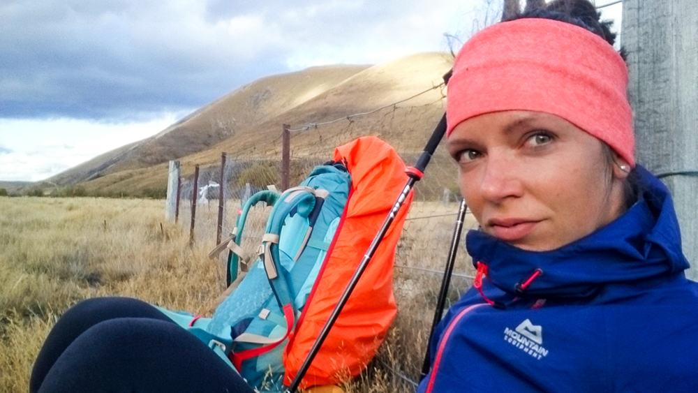 Gina Enderlein auf dem Te Araroa Trail in Neuseeland