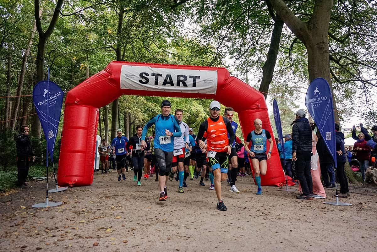 Start beim Dünenläufer