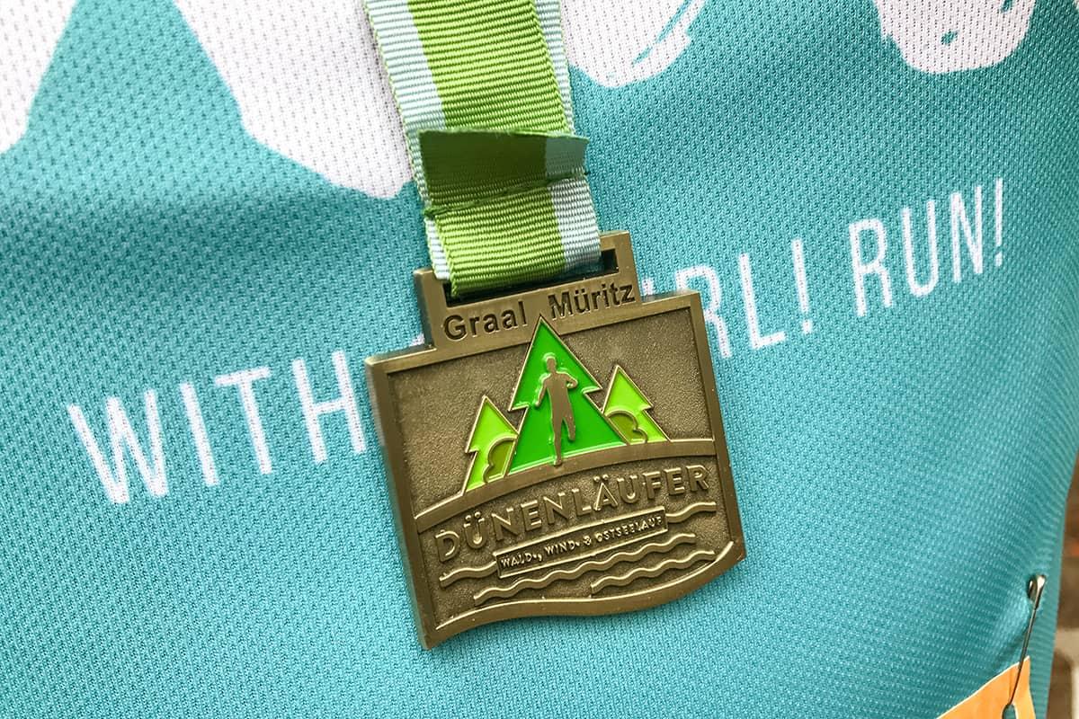 Medaille Dünenläufer