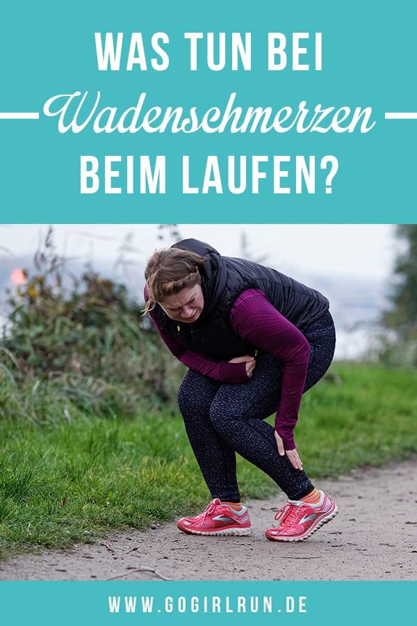 Wadenschmerzen beim Laufen