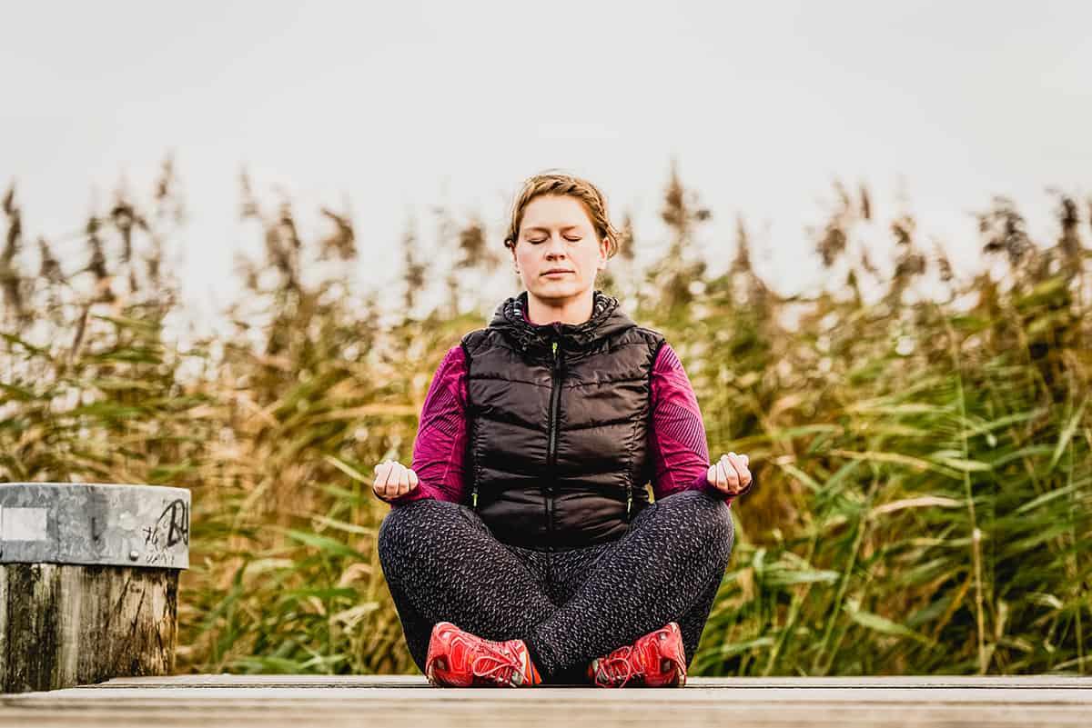 Meditaton draußen