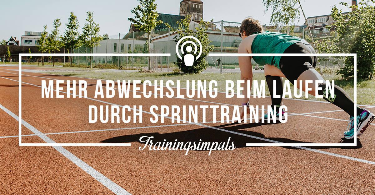 [Podcast-Folge #32] Trainingsimpuls –Sprinttraining