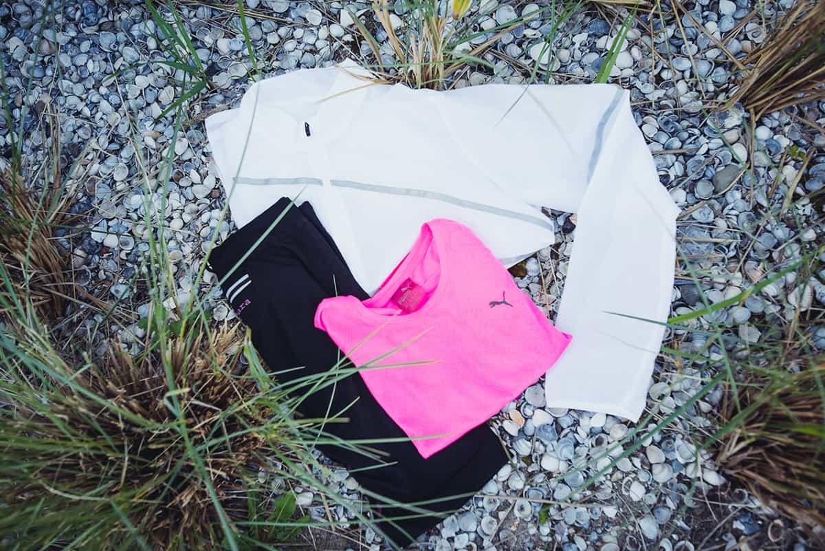 Laufbekleidung für Anfänger beim Sport