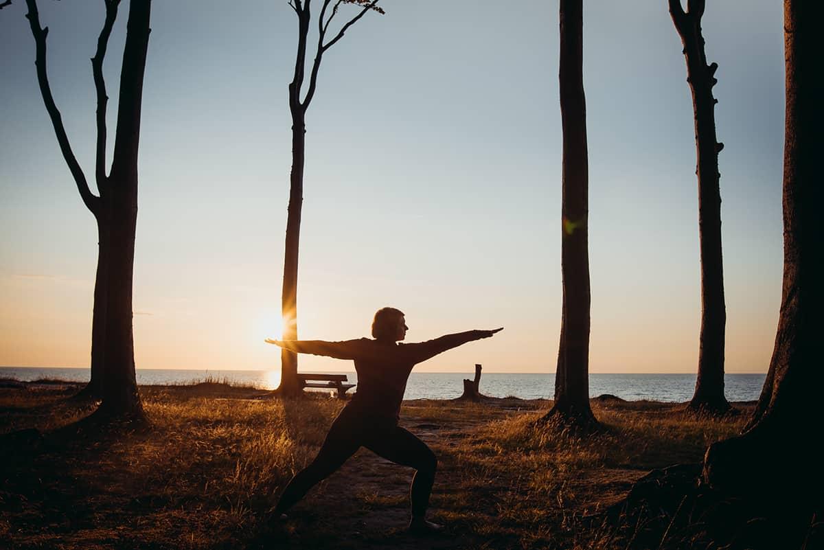 Yoga im Gespensterwald