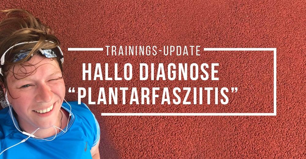 Laufverbot, Stoßwellentherapie, Frust – Mein neuer Freund heißt Plantarfasziitis