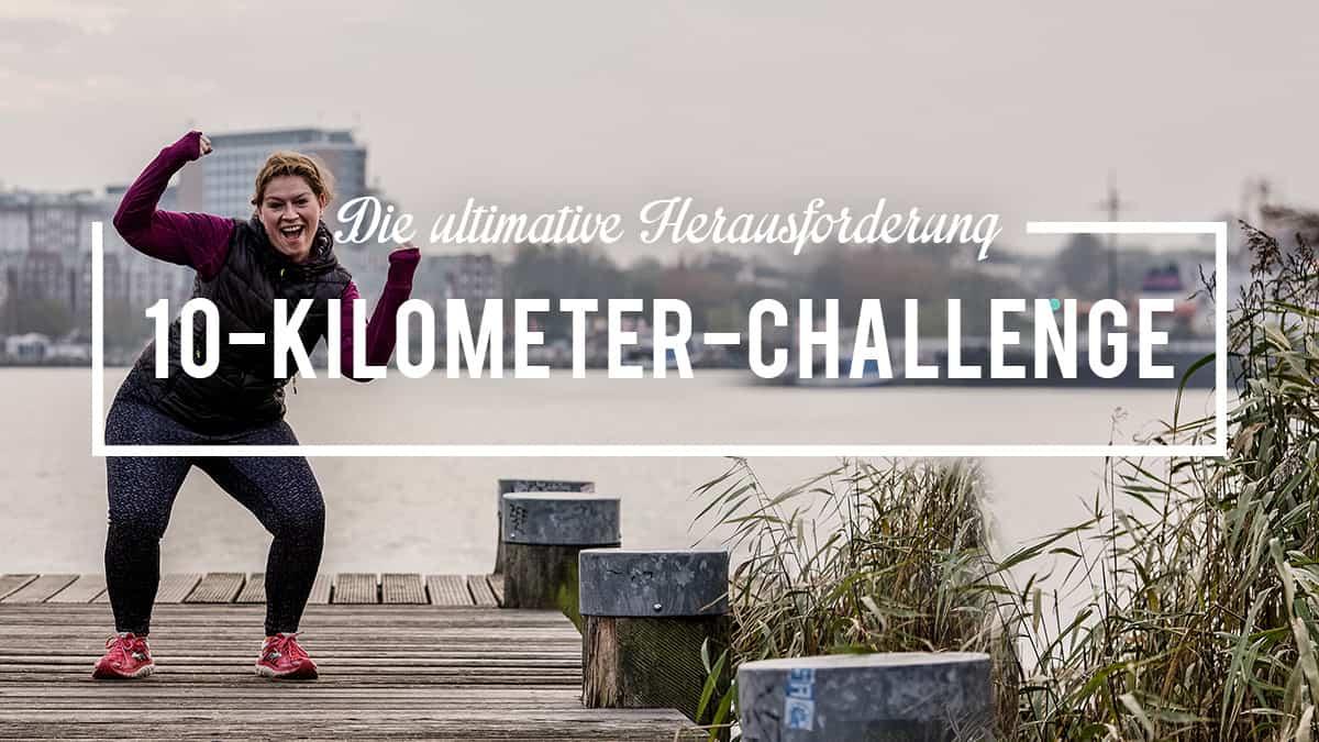 Trainingsplan 10km. Starte Deine Challenge und laufe 10 Kilometer am Stück, 10km unter 60 Minuten oder 10km unter 50min. Sei dabei und werde fit!
