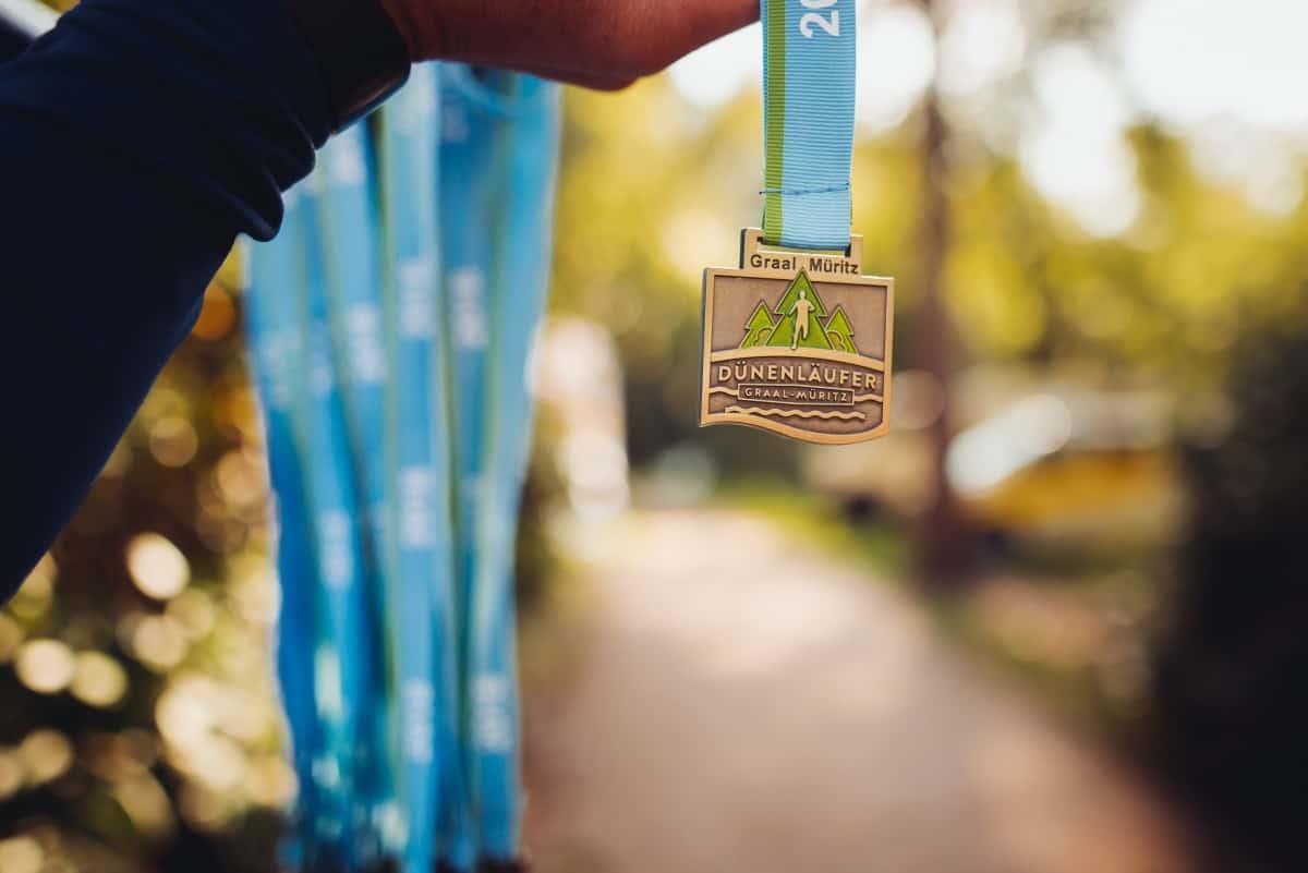 Dünenläufer Medaille
