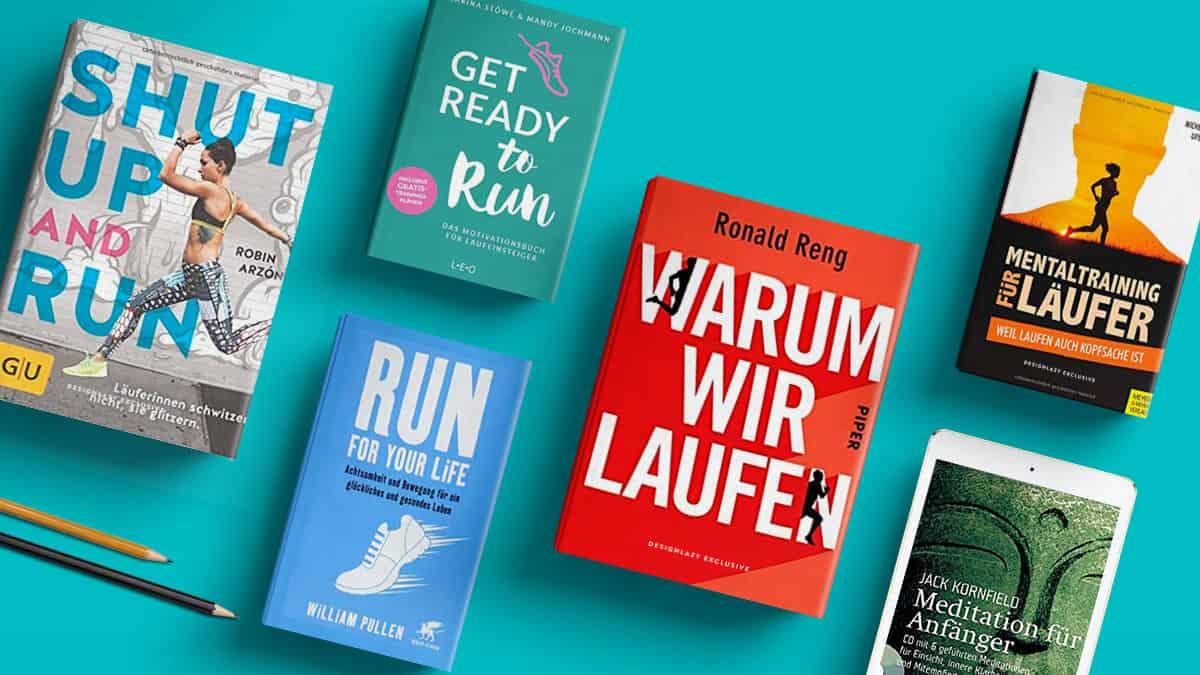 9 Bücher über das Laufen & Achtsamkeit