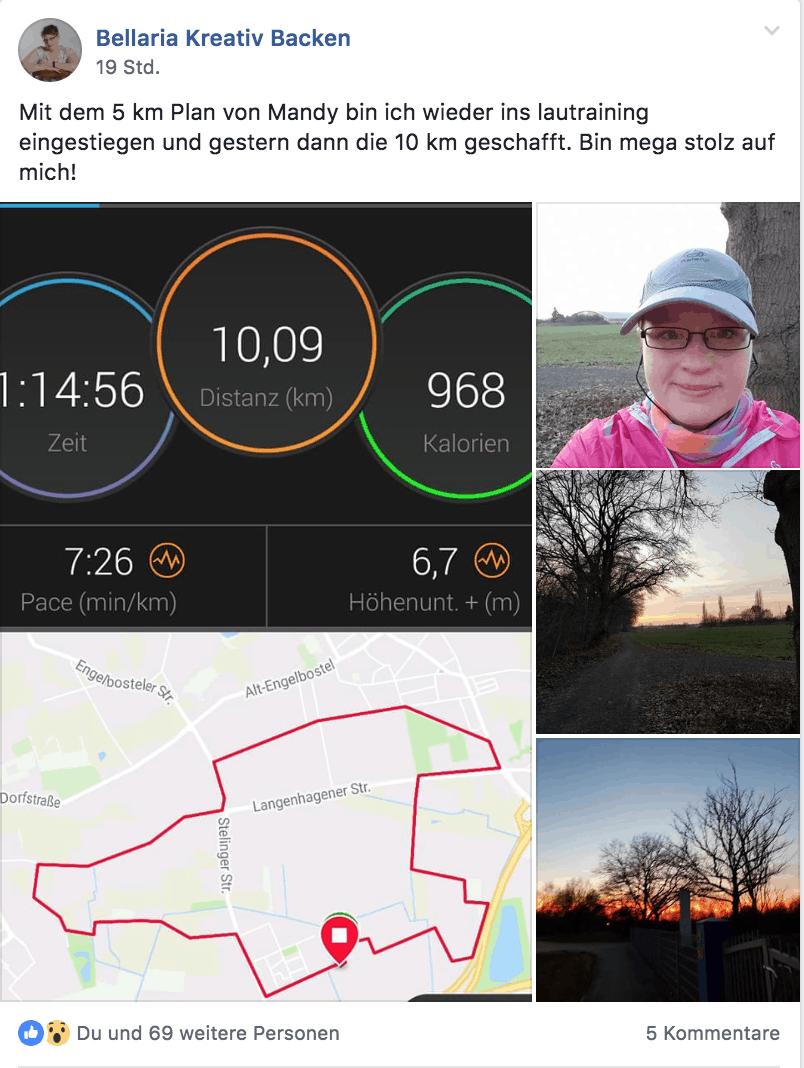 Laufe Deine ersten 5 Kilometer!