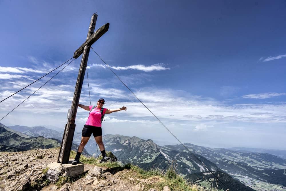 Gipfel Kanisfluh