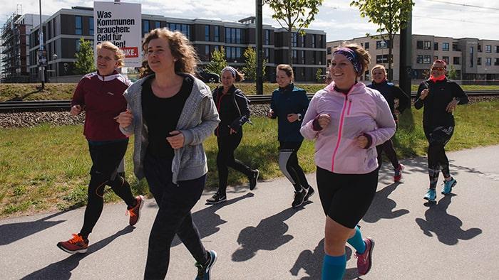Go Girl! Run! Laufworkshops
