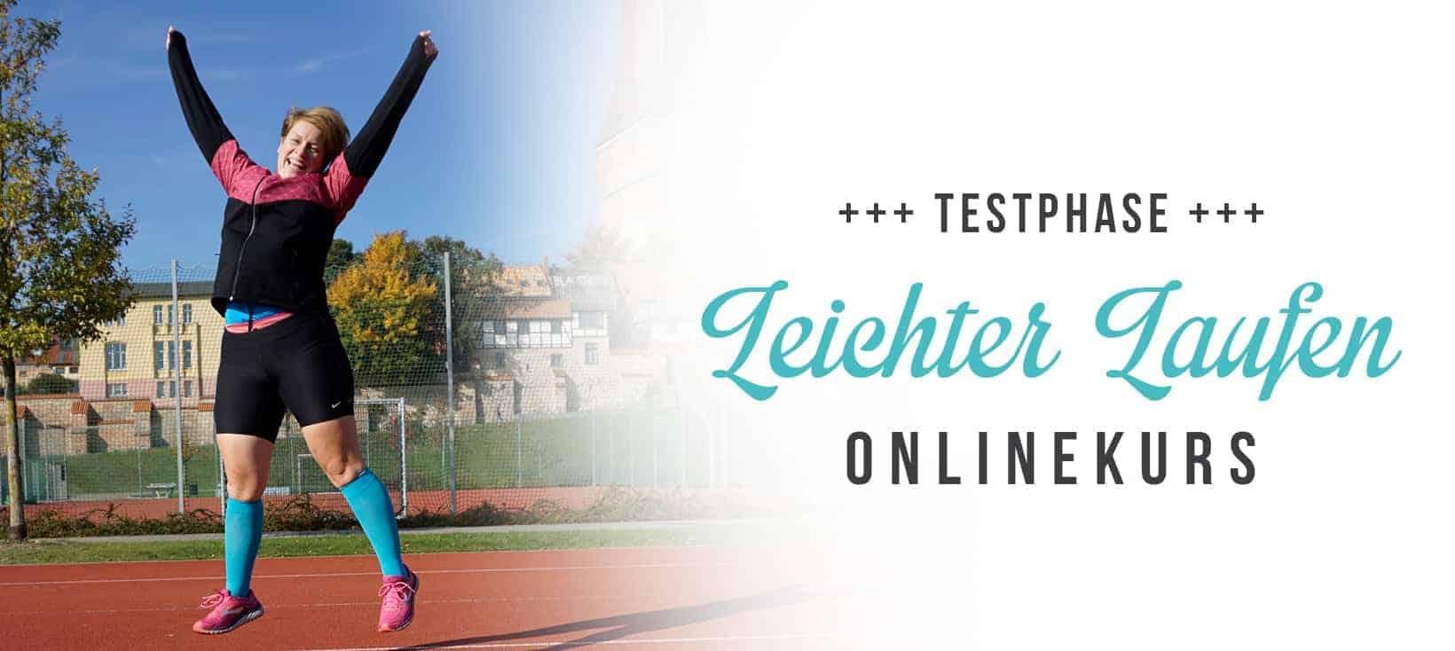 Sei bei der Testphase für den neuen Leichter Laufen-Onlinekurs dabei!