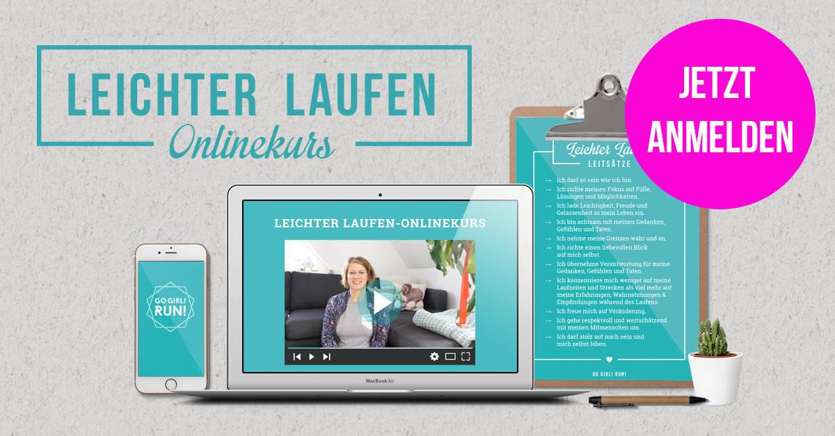 Leichter Laufen-Onlinekurs THE REAL ONE