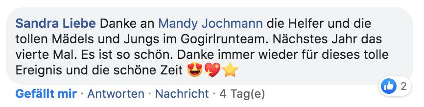 #TeamGoGirlRun zum Dünenläufer 2020 – Anmeldung