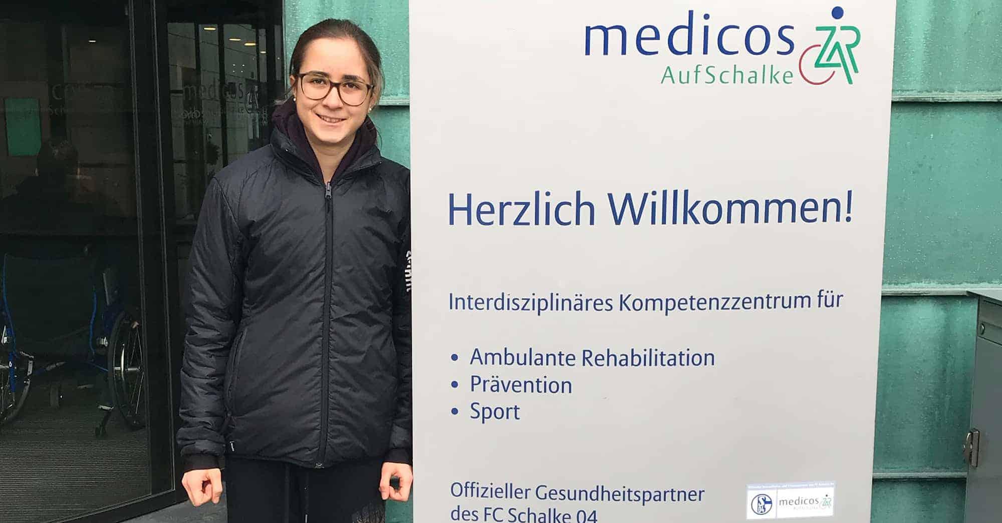 Meggie Schneider Laufanalyse bei medicosAufSchalke