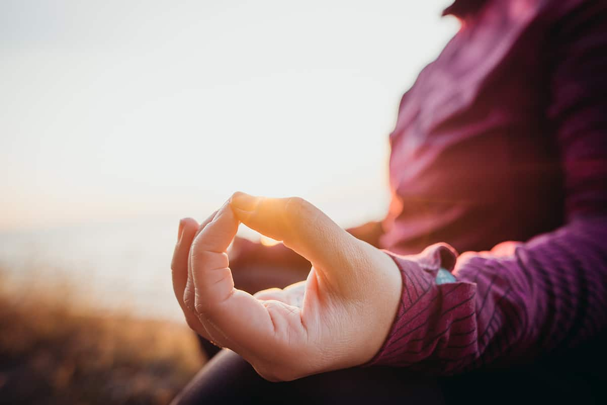 Meditation Hände