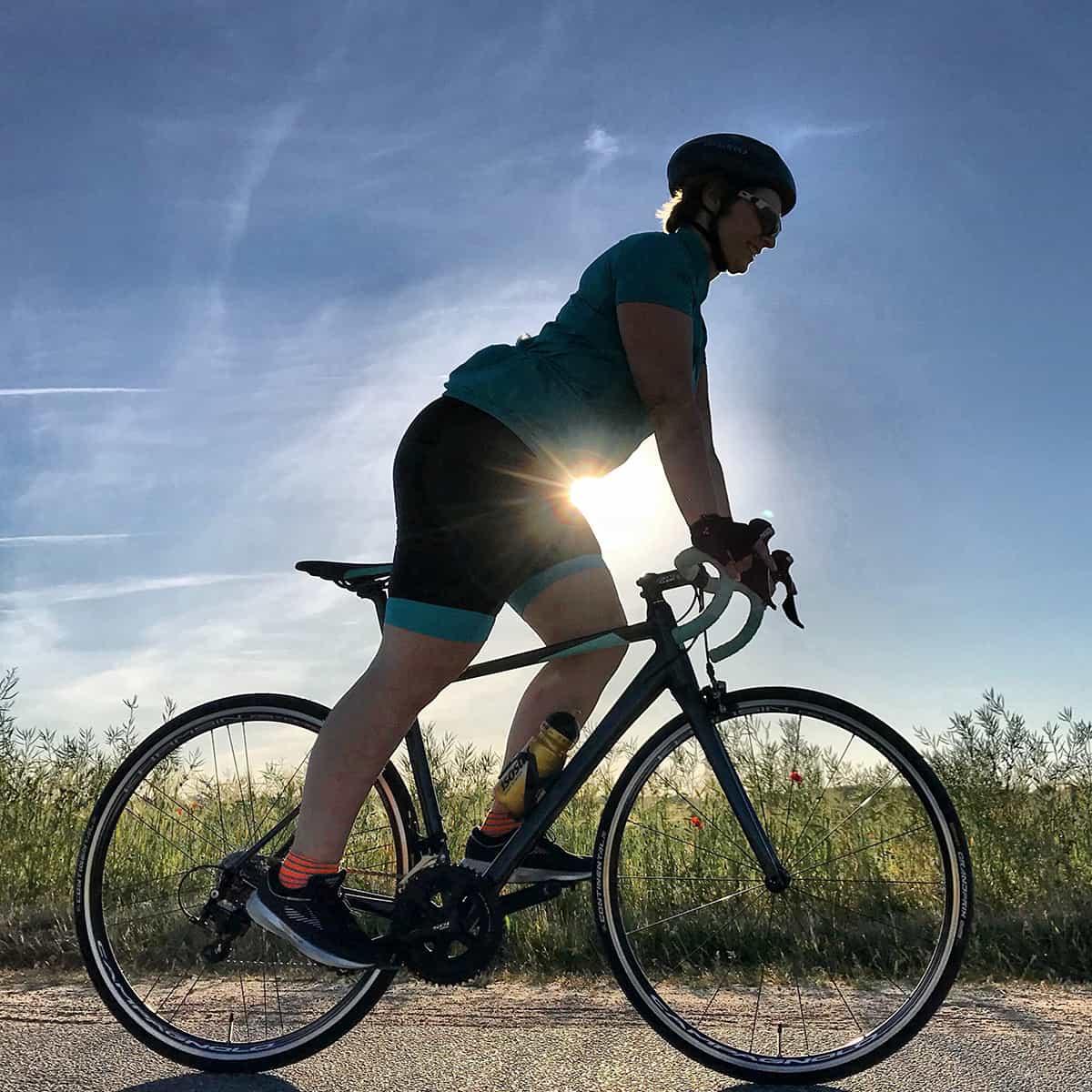 Triathlon-Training: Radfahren