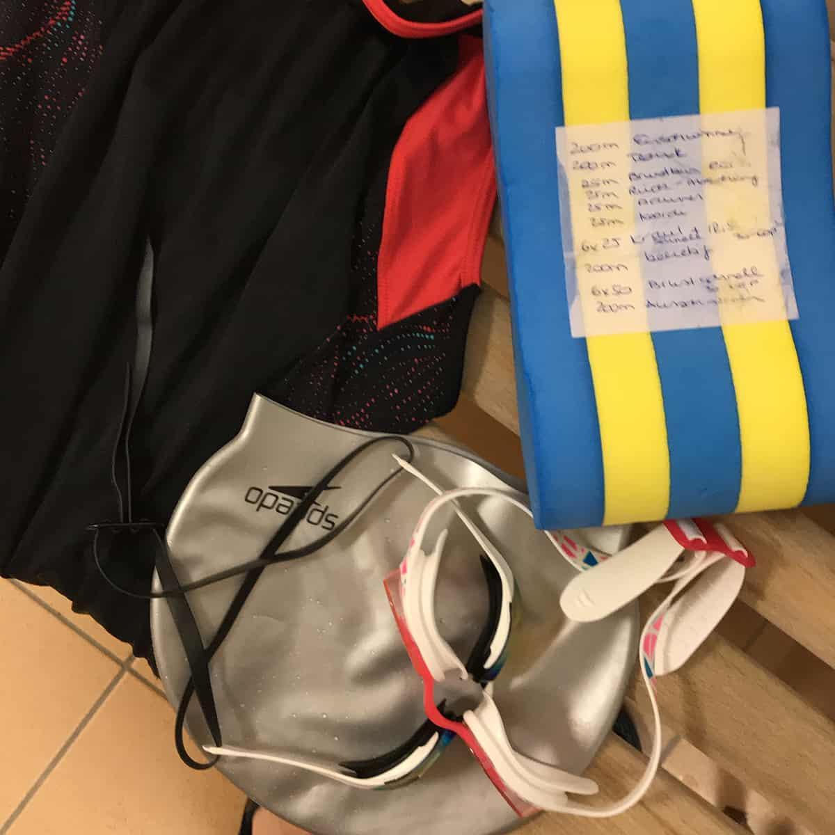 Schwimmtraining für den Triathlon mit Trainingsplan